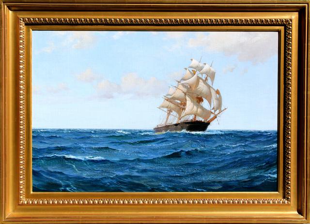 Montague Dawson, 'The Bostonian', Mark Murray Fine Paintings