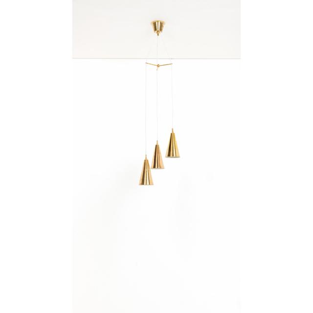 Hans-Agne Jakobsson, 'Ceiling lamp', near 1955, Design/Decorative Art, Laiton perforé, PIASA