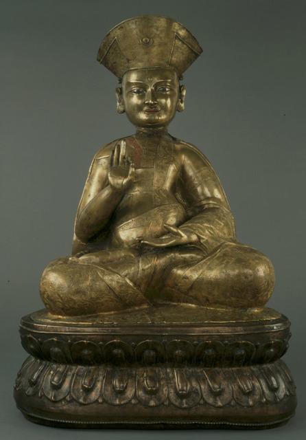 , 'Drukpa Kagyu Order Monk Gyawa Gotsangpa (1189-1258),' 16th-17th centuries, Newark Museum