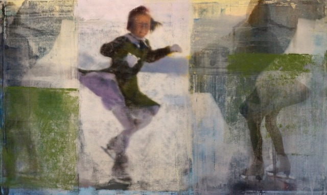 , 'Skater with Greem,' 2016, Julie Nester Gallery