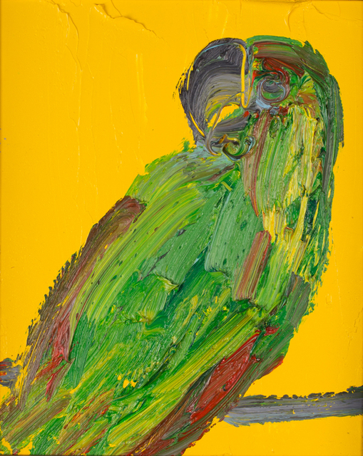 , 'Untitled Green/Yellow Parrot,' 2012, DTR Modern Galleries