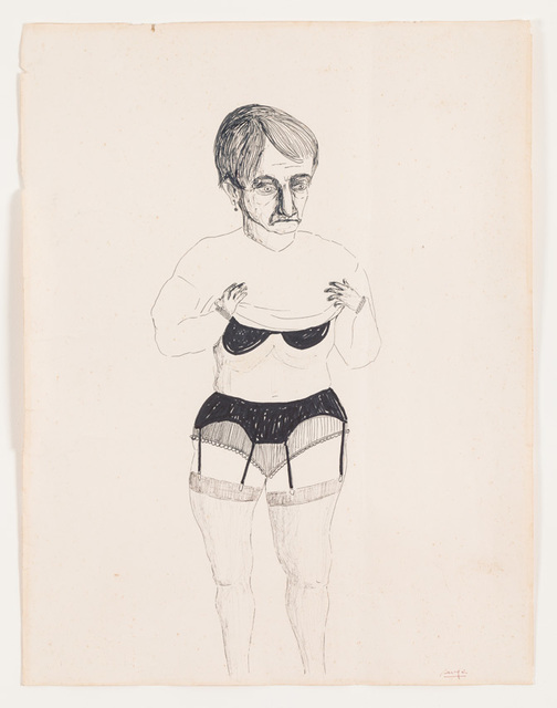 , 'Untitled (Woman undressing),' ca. 1960, Barbara Thumm