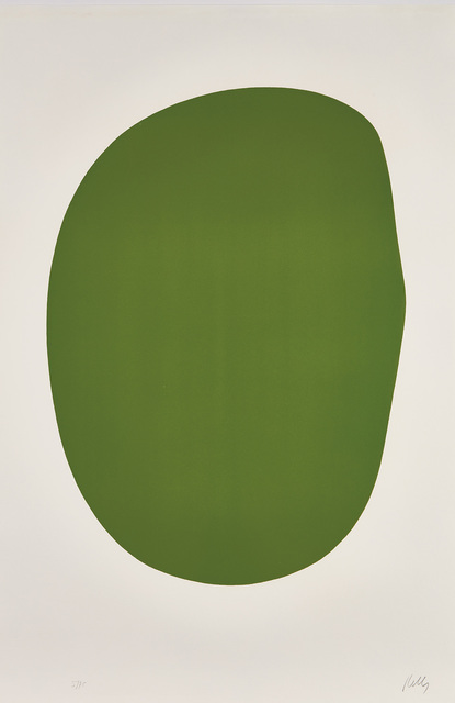 Ellsworth Kelly, 'Green (Vert), from Suite of Twenty-Seven Color Lithographs', 1964-65, Phillips