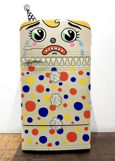 , 'Sad Clown Westinghouse,' 2018, La Luz de Jesus Gallery