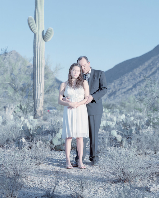 , 'Eddika Grajeda, 17 years & Philip Grajeda. Tucson, Arizona.,' , Pictura Gallery