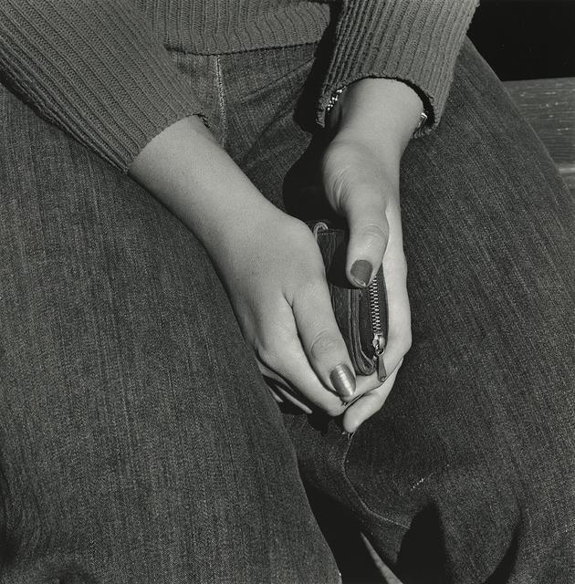 , 'Girl with Purse, Joubert Park, Johannesburg,' 1975, Pace/MacGill Gallery