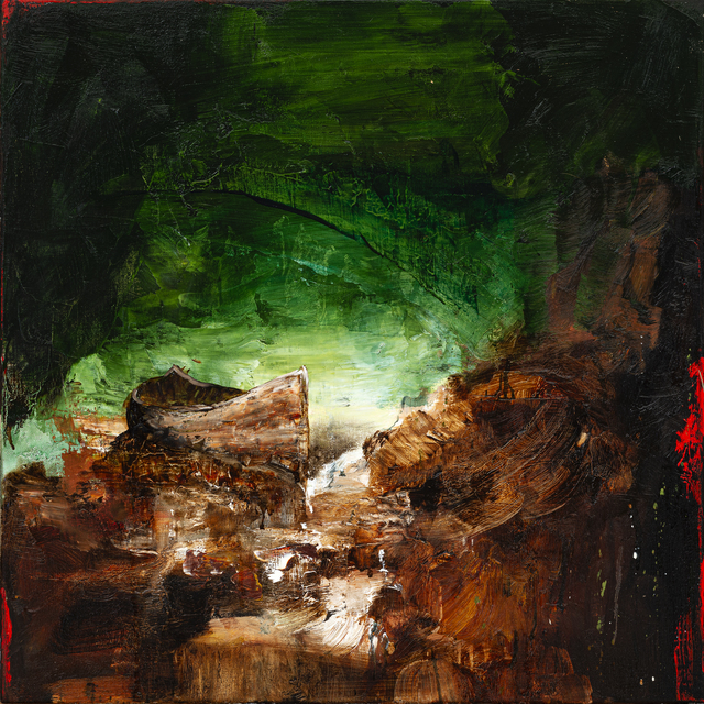 , 'Green Rainmaker Study,' 2019, Galerie de Bellefeuille