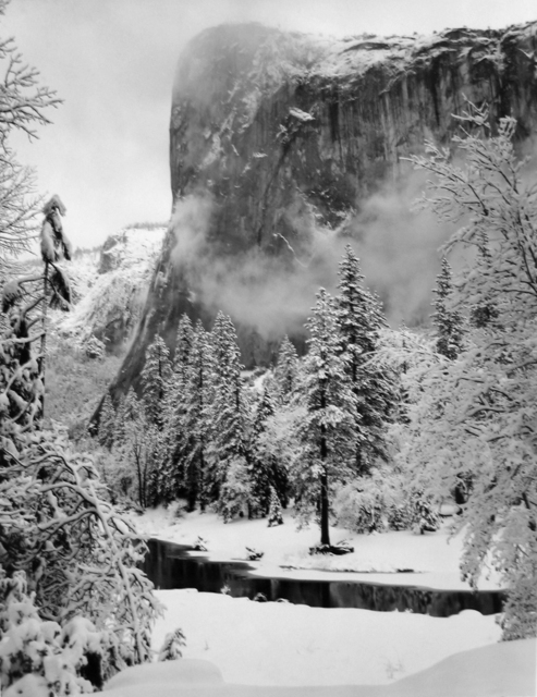 , 'El Capitan, Winter, Yosemite National Park,' 1952, G. Gibson Gallery