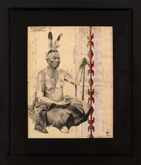 Chris Pappan, 'Honor All Treaties', 2017, Blue Rain Gallery