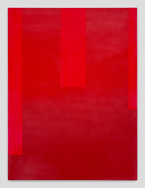 , 'In Absentia (Carmine Red-Pure Red),' 2017, Night Gallery