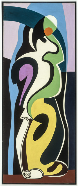 , 'Composition à deux personnages,' 1930, Galerie Philippe David