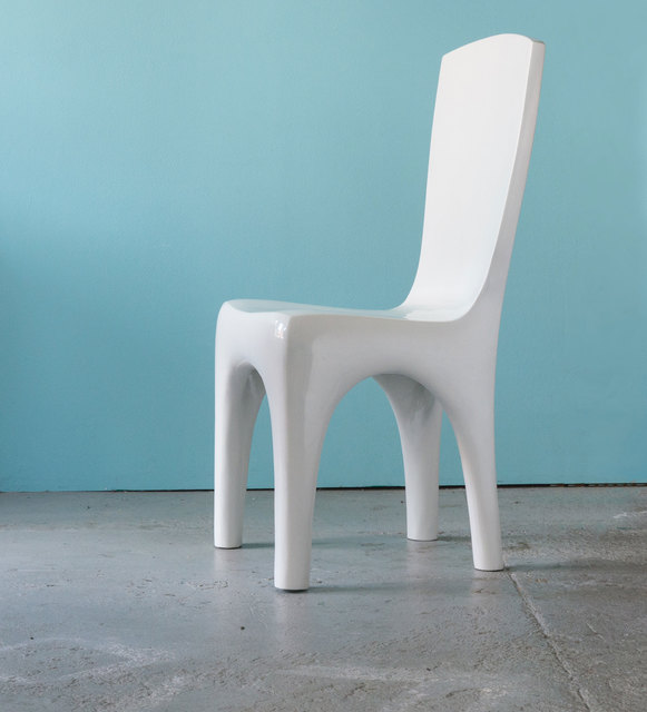 Jacques Jarrige, 'CHAIRS in white lacquer by Jacques Jarrige', 2016, Design/Decorative Art, Lacquer, Valerie Goodman Gallery
