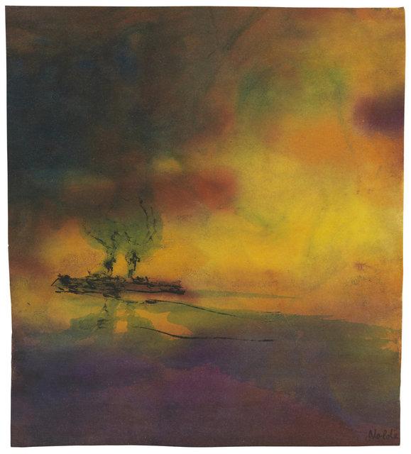 , 'Meer mit Dampfer,' ca. 1945, Ludorff