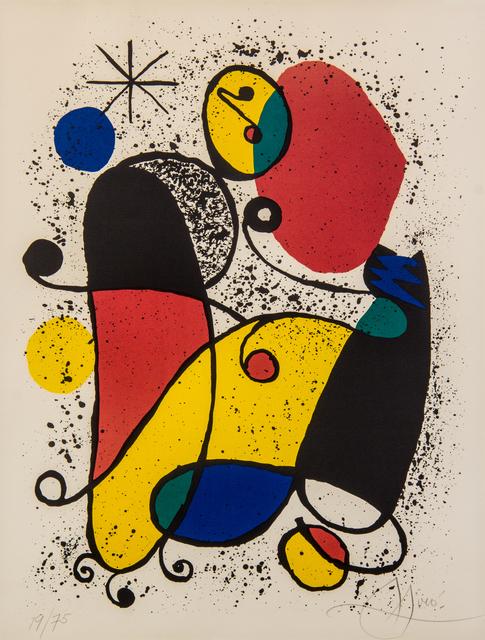 Joan Miró, 'Untitled', Hindman