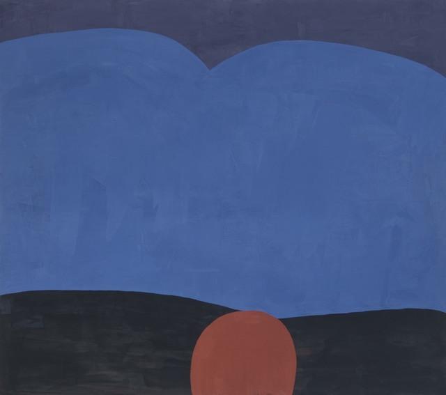 , 'ULTRA BLUE DESERT DUSK,' 2018, Gallery Fritz