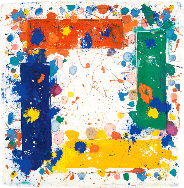 Sam Francis, 'Untitled', 1981, Masterworks Fine Art