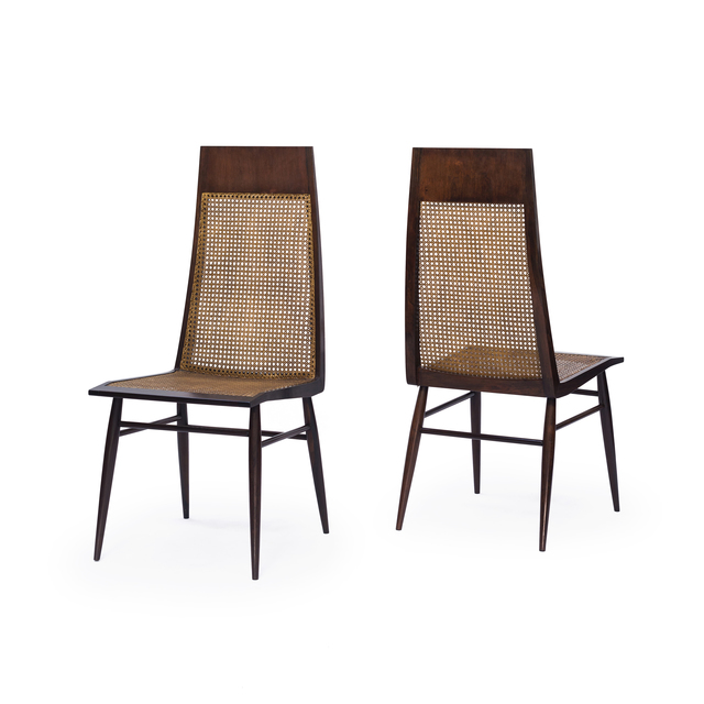 , 'High back curved chairs,' ca. 1960, Loja Teo