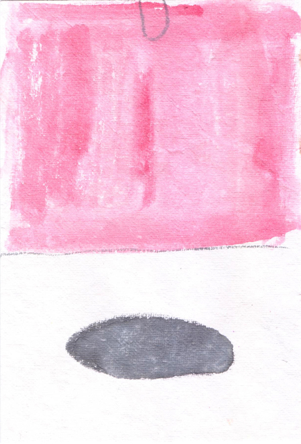 , 'The Puddle and the Plateau (study, pink),' 2016, JGM Gallery