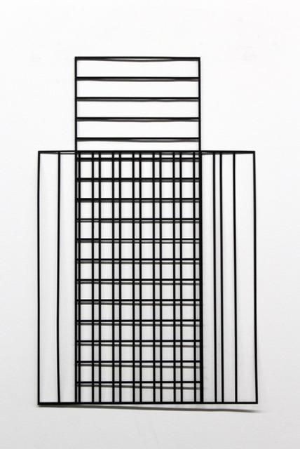 , 'Grid,' 2017, PLUTSCHOW GALLERY