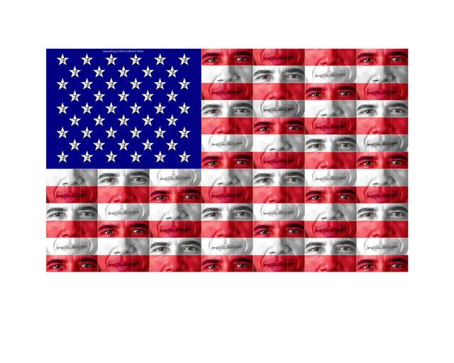 Florence Weisz, 'Obamart: Flag', 2009, InLiquid