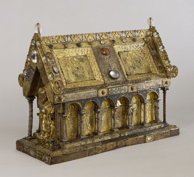 'Shrine of Saint Amandus', Early 13th century, Walters Art Museum