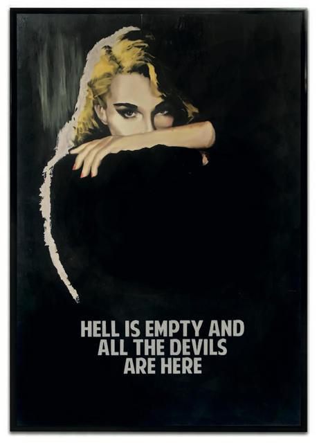 , 'Hell Is Empty (Black/Blue),' 2018, Maddox Gallery