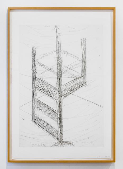 , 'Suspended Chair,' 1985, Brooke Alexander, Inc.