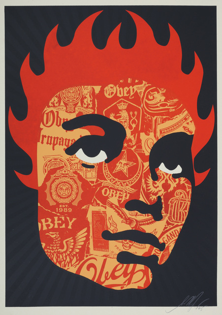 Shepard Fairey, 'Obey College Girl', 2005, Chiswick Auctions