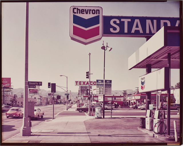 Stephen Shore, 'La Brea Ave. and Beverly Blv. Los Angeles, CA', 1975, Phillips