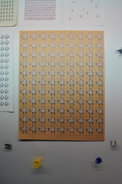 , 'sillas,' 2017, SGR Galería