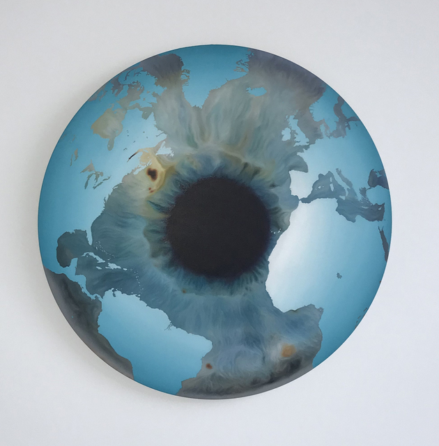 Marc Quinn, 'The Inner Eye (Ocean Waterfall)', ca. 2013, Painting, Oil on canvas, The Drang Gallery