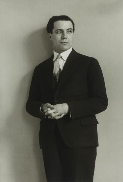 , 'Architect [Hans Heinz Lüttgen],' ca. 1929, Galerie Julian Sander