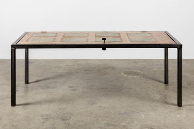 , 'Door/Table,' 2014, Galerie Eva Presenhuber