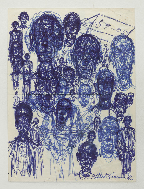 , 'Men's Heads (Têtes d'hommes),' 1959, Guggenheim Museum Bilbao
