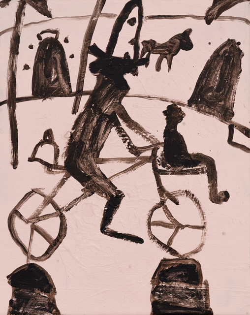 , 'School Ride,' 2018, Hans Alf Gallery