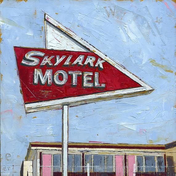 """, '""""""""Skylark Motel"""",' 2018, Parlor Gallery"""