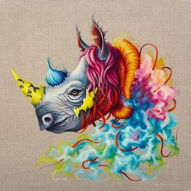 , 'Rhino,' , Corey Helford Gallery