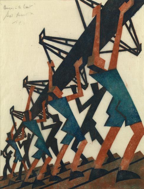 , 'Bringing in the Boat,' 1933, Osborne Samuel