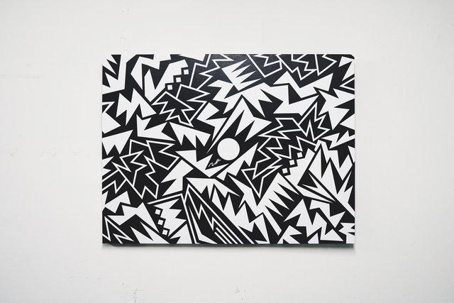 , 'Black Mamba Battle Damage,' 2015, Marie Baldwin Gallery
