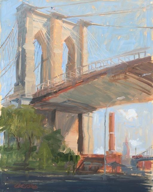 , 'Brooklyn Bridge,' 2015, Grenning Gallery