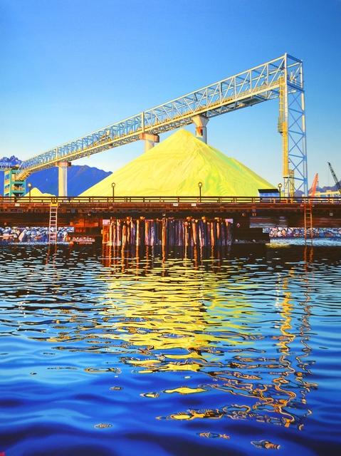 , 'Vancouver Wharves terminal II,' 2020, Kurbatoff Gallery