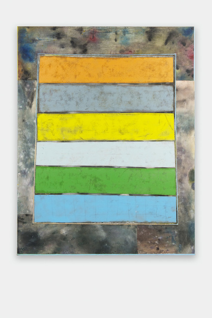 , 'Untitled (stripes 2),' 2016, GRIMM