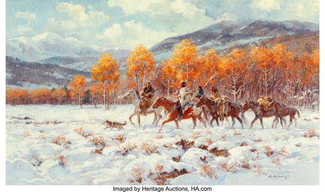Roy Andersen, 'When the Seasons Meet', Heritage Auctions