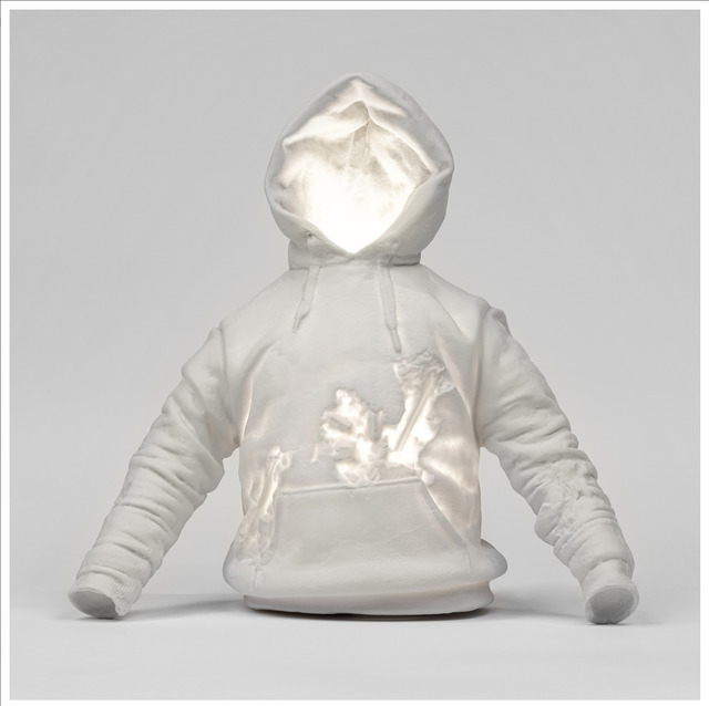 Daniel Arsham, 'Eroded Jacket', 2019, Fashion Design and Wearable Art, Porcelain sculptural lamp, Dope! Gallery Gallery Auction