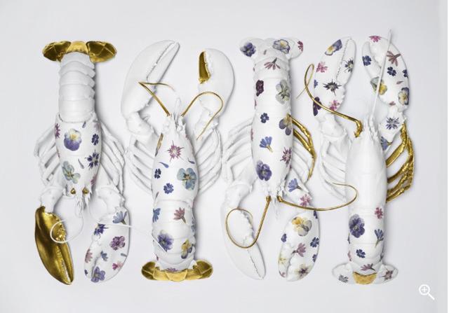 Clara Hallencreutz, 'Porcelain Lobsters 2.0 - A Supermarket Heritage ', Mouche Gallery