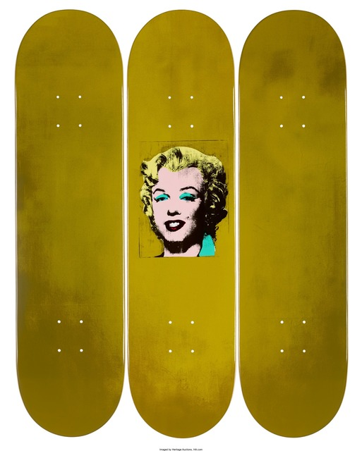 Andy Warhol, 'Gold Marilyn', Other, Set of 3 decks, Heritage Auctions