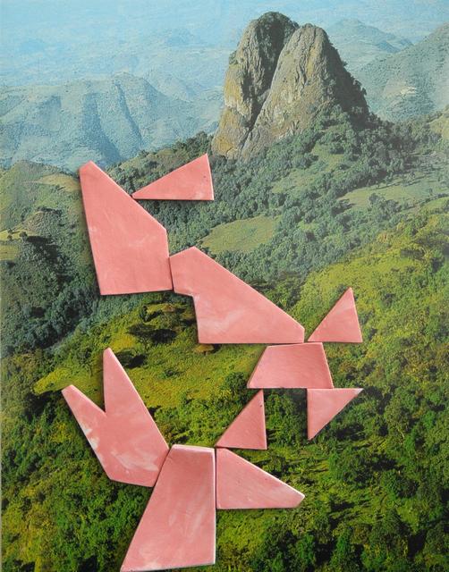Marjolijn De Wit, 'Evidence of Their Existence #31', 2013, Photography, Piezography and ceramics, Asya Geisberg Gallery