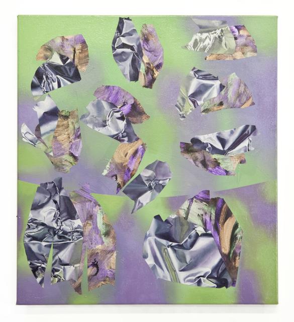 , 'Crease,' 2015, Galerie Huit