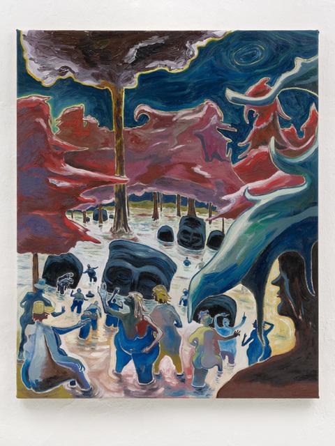 , 'Swamp of the gods,' 2018, Setareh Gallery