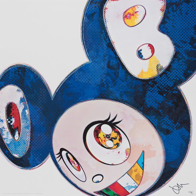 Takashi Murakami, 'And then - Blue Superflat Method (Blue) ', 2013, Galerie Raphael